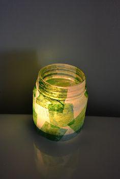 {Babyfood Jar} Tealight Holders