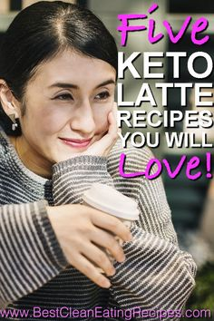 5 Keto Latte Recipes [You Will Love] Healthy Diet Recipes, Healthy Recipes For Weight Loss, Healthy Food, Clean Eating Diet Plan, Clean Eating Recipes, Weight Loss Snacks, Weight Loss Meal Plan, Simply Keto, Golden Milk Latte