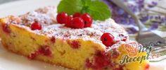 Recept Bublanina s rybízem do koláčové formy Chicken Paprikash, 20 Min, Sweet Cakes, Strudel, Sweet Tooth, French Toast, Cheesecake, Dessert Recipes, Food And Drink