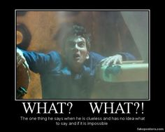 but what else do you say when the TITANIC runs into your TARDIS??!?!?!?!?