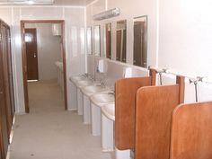 VIP Ablution Unit Interior - Portable / Chemical Toilet - www.modestcompany.com