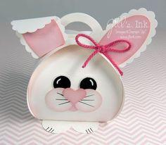 Curvy Keepsake Easter Bunny Box www.JillsInk.com