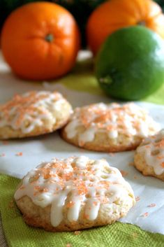 White Chocolate Citrus Spice Eggnog Cookies
