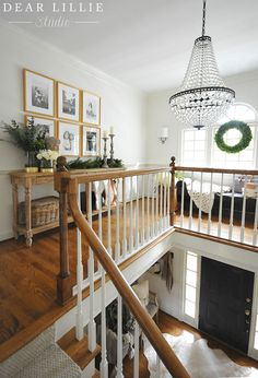 Christmas in the Upstairs Hallway