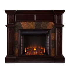Market Electric Fireplace for in front of the brick