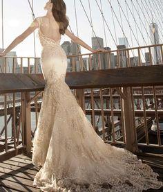 Glamorous Pnina Tornai Wedding Dresses - MODwedding