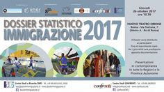 Verrà presentato il 26 ottobre in tutta Italia il Dossier Statistico Immigrazione 2017