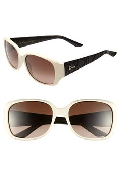 Christian+Dior+'Frisson+2/S'+56mm+Sunglasses+available+at+#Nordstrom