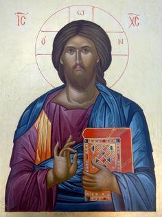 Galerie d'icônes - ATELIER SAINTE SOPHIA Christ Pantocrator