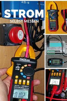 Hilfe zur Fehlersuche bei Elektrischen Problemen. Anleitung zum Umgang mit dem Multimeter. Einfache Anleitung zum Strom und Spannung richtig messen.