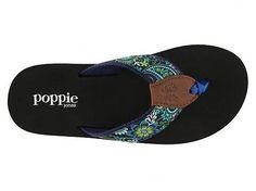 Poppie Jones French Blue Flip Flop