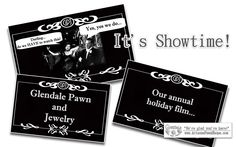 """In the spirit of the great silent film-makers of the past, Glendale Pawn and Jewelry is proud to present our 2012 Holiday Movie, """"Glendale Pawn and Jewelry Saves the Holiday!"""" This was produced, edited and created entirely by the staff of Glendale Pawn and Jewelry. Absolutely no trained """"Hollywood Types"""" were involved. Oscar contender? Uh, probably not...but we always have a great deal of fun making these! Have a Happy Holiday!"""