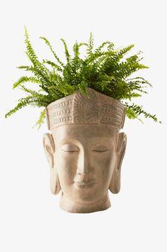 Planter Pots, Decor, Brown, Dekoration, Decoration, Decorating, Deco, Embellishments