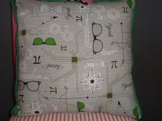 Geek Pillow by GoughGoodies on Etsy