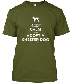 Show Your Support For Shelter Dogs | Teespring