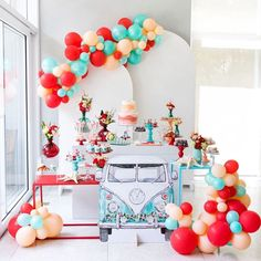 Baby Birthday Decorations, Boys First Birthday Party Ideas, Birthday Party Themes, Happy Party, Festa Party, Vintage Birthday, Baby Shower Themes, Shower Baby, Baby Showers
