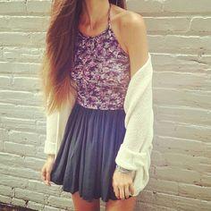 Best Teen Fashion Part 40 Cute Summer Outfits, Spring Outfits, Cute Outfits, Looks Style, My Style, Teen Fashion, Fashion Outfits, Mode Inspiration, Rock