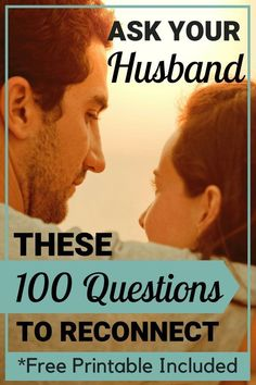 These 100 questions to ask your spouse are perfect conversations starters for married people! Reconnect with your spouse with these intimate, funny and romantic questions to ask your husband. Great communication tips for marriage! Healthy Marriage, Good Marriage, Marriage Relationship, Happy Marriage, Marriage Advice, Communication Relationship, Marriage Prayer, Quotes Marriage, Marriage Goals