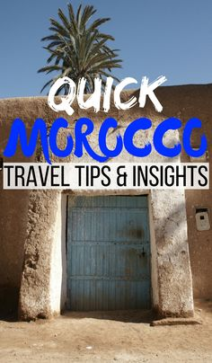 In this traveler spotlight, we interview Spanish born Andrea Denegro who shares some quick Morocco travel tips and insights from her recent trip. Click through to read now...