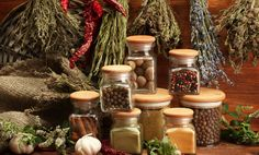 12 Surprising Uses for Herbs & Spices: from cleaning drains and doing laundry to relieving congestion, look no further than your spice rack for what you need!