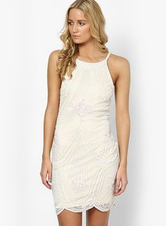 Buy Miss Selfridge Cream Colored Solid Bodycon Dress Online - 2846702 - Jabong Best Online Fashion Stores, Online Shopping Sites, Lakme Fashion Week, Buy Shoes, Shoe Brands, Suits You, Miss Selfridge, Bodycon Dress, India