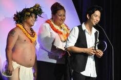 Where to go in May: Hawaii.  Brunch concerts, ukulele and what's come to be known as the GRAMMY awards for Hawaiian music is also known as the Mele Mei Music Festival.    Jake Shimabukuro Receives 2010 Entertainer of the Year Award - Photo by John Fischer, licensed to About.com