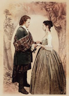 """""""""""Blood of my blood,"""" he whispered, """"and bone of my bone. You carry me within ye, Claire, and ye canna leave me now, no matter what happens. You are mine, always, if ye will it or no, if ye want me or..."""