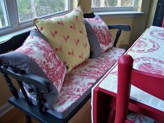 Lenoxdale Toile Curtains and Toile Bedding Collection - Country