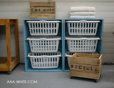 Going to make this Awesome laundry organizing idea.