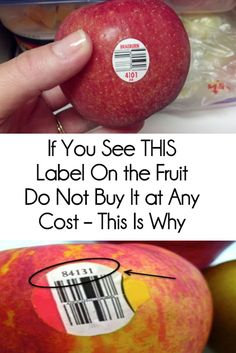 Most of us don't know that the stickers attached to the fruits and vegetables are there for more than just scanning the price. The PLU code, or the price lookup number on the sticker can help