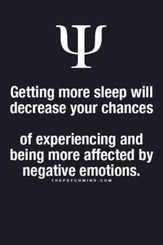 The key is good quality sleep