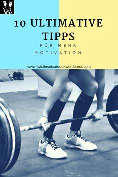 Ultimative Tipps, wie man in 10 einfachen Schritten zu mehr Motivation für Sport gelangt. In diesem Blog Beitrag aus der Kategorie Fitness lest ihr, wie ihr euren inneren Schweinehund endgültig überwindet. Sixpack Training, Sport Motivation, Workout, Fitness, Sports, Blog, Fatty Acid Metabolism, Dieting Tips, Metabolism