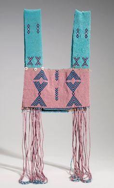 Xhosa people (South Africa), Vest, beads/string, c. African Beads, African Jewelry, Ethnic Jewelry, Beaded Jewelry, Jewellery, Fashion Details, Boho Fashion, Xhosa, Textiles