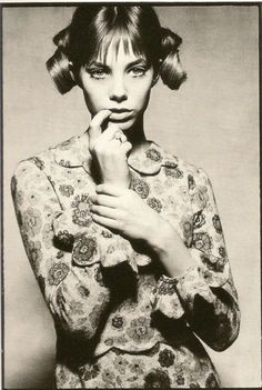 Jane Birkin  Photo by David Bailey, 1960s