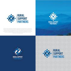 Use your creativity to design a professional, eye-catching logo for Rural Support Partners by fobi