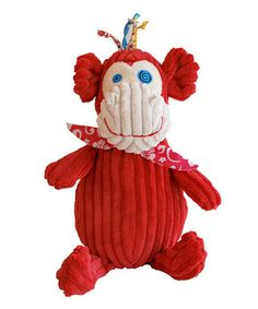 Take a look at this Bogos the Monkey Plush by Geared For Imagination on #zulily today! $15 !!