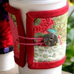 40+ Patterns for Coffee Cup Cozies & Sleeves ~knitted, sewn, & crocheted (this one alysonspetals.blogspot.ca)