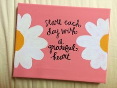 The Funky Monkey Giveaway: Hues of Grace Hand Painted Canvas With Quote - Ends 6/23/14