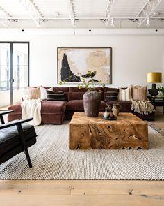 Living Room Interior, Home Living Room, Home Interior Design, Living Room Designs, Living Room Decor, Warm Living Rooms, Contemporary Interior Design, Living Room Inspiration, Home Decor Inspiration