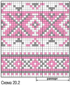 Easy Knitting Patterns for Beginners - How to Get Started Quickly? Crochet Snowflake Pattern, Tapestry Crochet Patterns, Fair Isle Knitting Patterns, Crochet Dolls Free Patterns, Crochet Stitches Patterns, Knitting Charts, Crochet Chart, Bead Crochet, Cross Stitch Designs