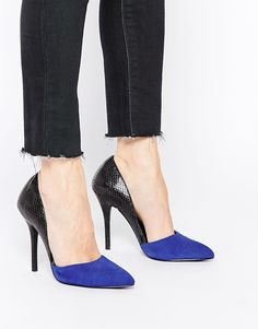 c87d3adc07a87 Steve Madden Closed Cut Out Court Shoes at asos.com