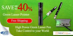 Green Laser Pointer - Up to 40% off and Free Shipping