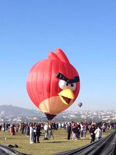 Angry Birds presente en el Festival Internacional del Globo en #León #ViveFIG