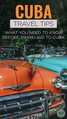 Planning a trip to Cuba? Read here what you need to know before traveling there.  Information about the language, the difference between the two currencies, and what  power converter you need to bring  for your electronics. Read more about what you need to know as you prepare for your next trip to Cuba.