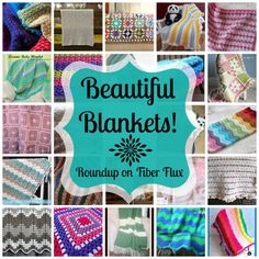 Beautiful Blankets Roundup on Fiber Flux...over 30 free crochet blanket patterns!