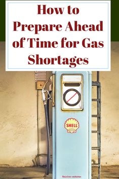 The best way to avoid panic is to prepare. Be ready for gas shortages with these great tips. #shtf #preparedness #prepping via @justplainmarie