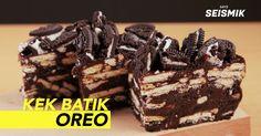 Resepi Kek Batik Hijau Oreo