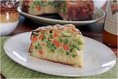 O melhor restaurante do mundo é a nossa Casa: Torta salgada de legumes sem gluten