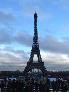 Christmas in Paris is beautiful!