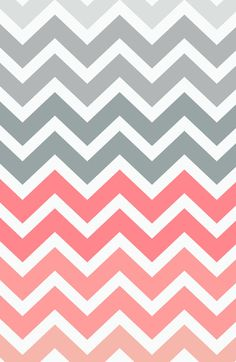 Chevron Pink Fade Art Print Wallpaper. Phone background. Lock screen.
